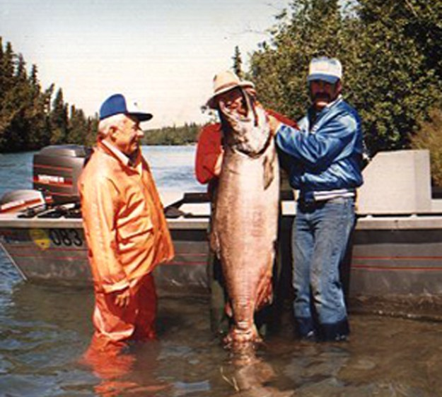 World Record King Salmon