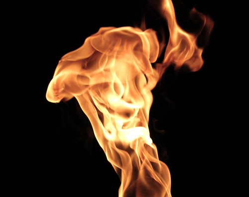 Recoiling Flame
