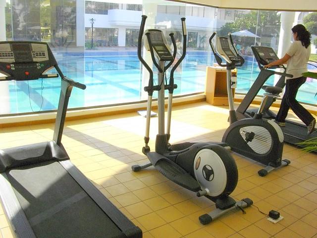 Fitness jim in the Lemon Tree Hotel, Aurangabad