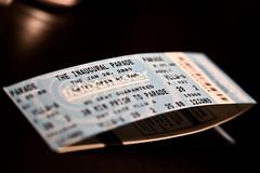 Inaugural Parade Tickets!