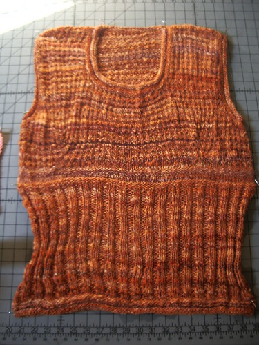 Back to School Vest from Fitted Knits