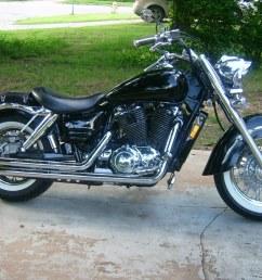 1999 honda shadow aero 1100 by rbeard3 uwe9999 tags honda 1999 motorcycle cruisercustomizing [ 1024 x 768 Pixel ]