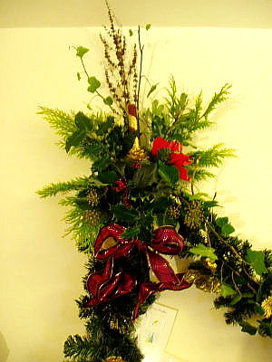 left side of the garland