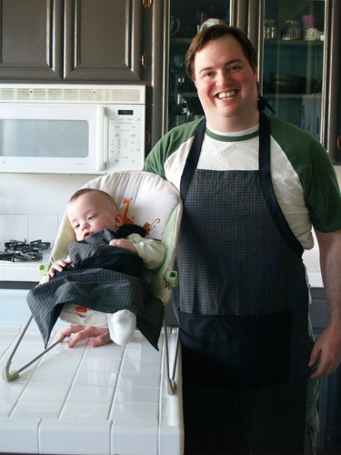 Father son aprons
