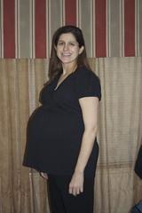 Jenny at 37 weeks.