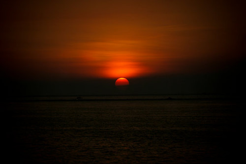 Manila sunset, Manila Ocean Park