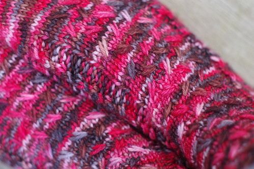 Sunni's socks cable pattern