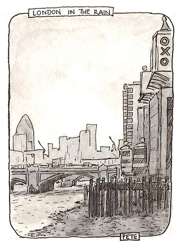 by the banks of the thames