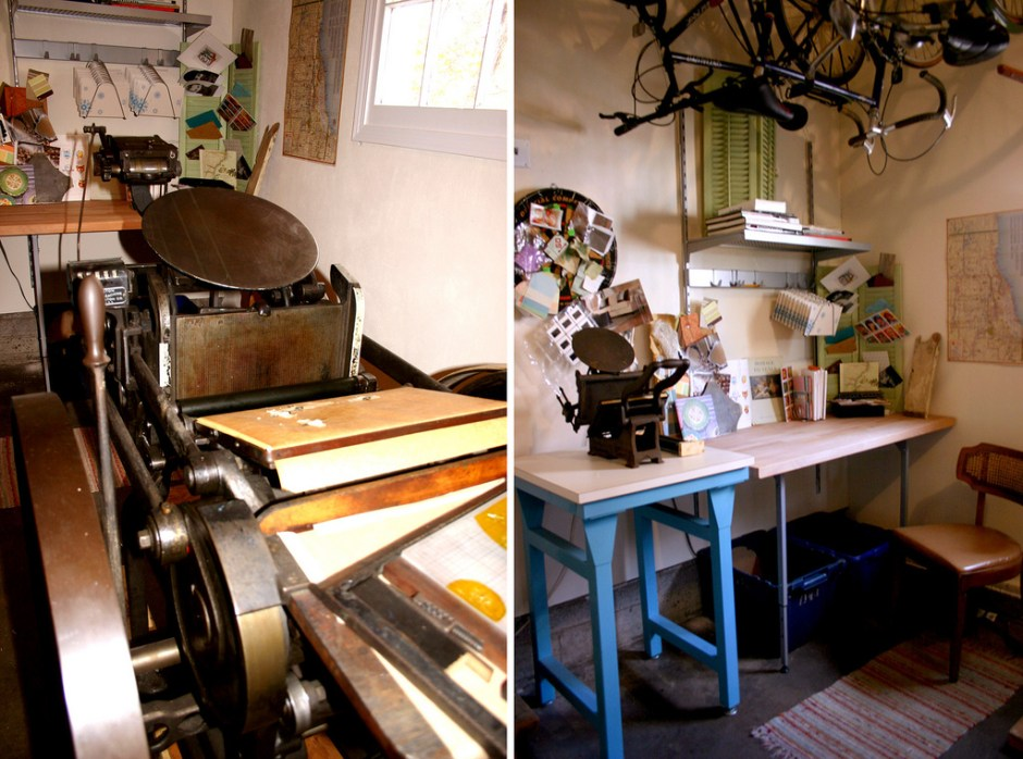 Paper Stories Letterpress Studio Tour