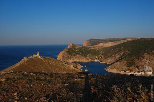 Крепость Чембало и балаклавская бухта