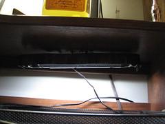 CFL Desk Lamp... aint it pretty?