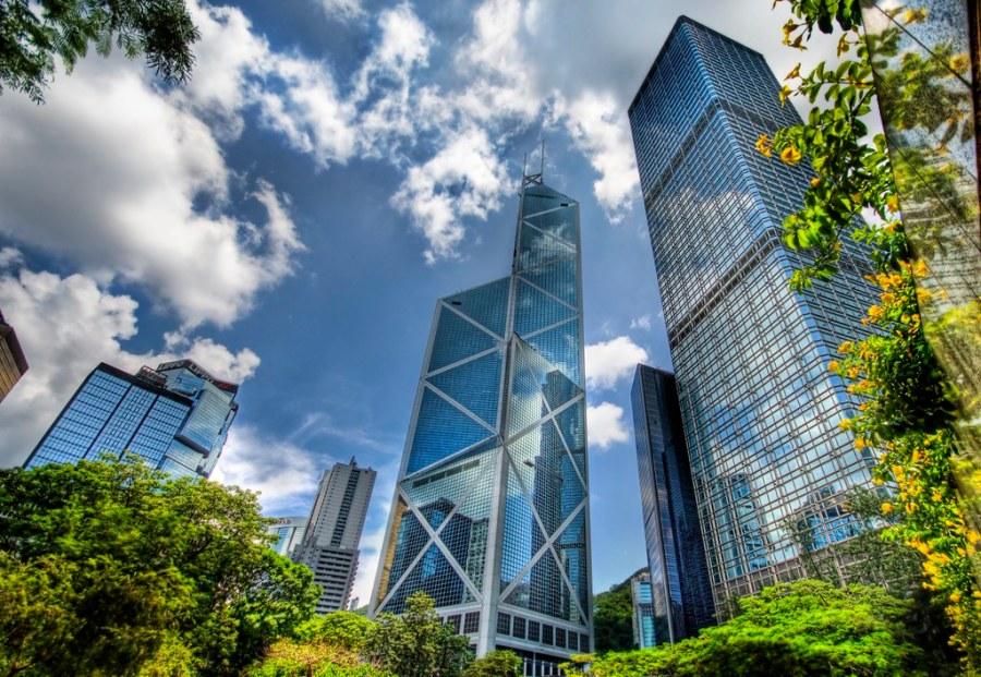 The Glass Jungle in Hong Kong