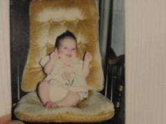 Me, ages ago