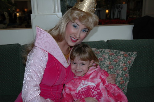 E with Princess Aurora