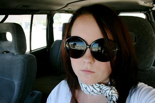 Self Portrait with Witchery Sunglasses