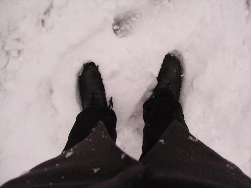 A foot deep?