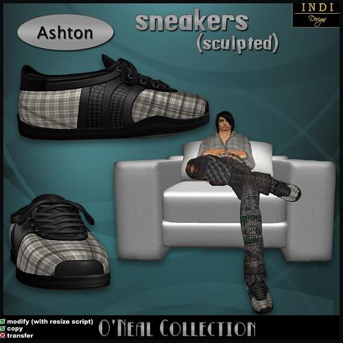 O'Neal sneakers Ashton