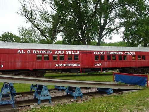 WI, Baraboo - Circus World Museum 35 - Train Cars