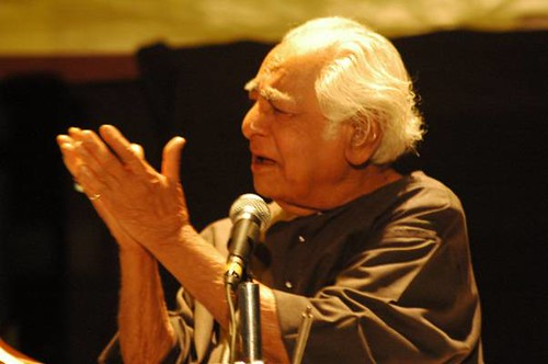 Dhrupad Maestro Fahimuddin Dagar saab by Vasu..