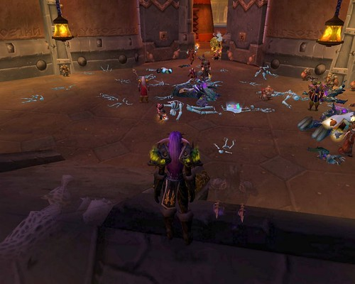Horde come to attack the king of Ironforge, Horde are sent swiftly away again with a flea in their ear.