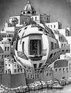 M. C. Escher. Balcones. 1945.