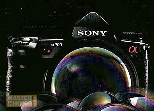 Sony Alpha DSLR-A900 Full Frame Advertisement