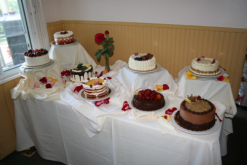 Seven cakes a counting