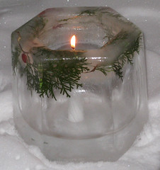 Ice Block Candle