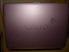 Notebook Sony Vaio Pink!