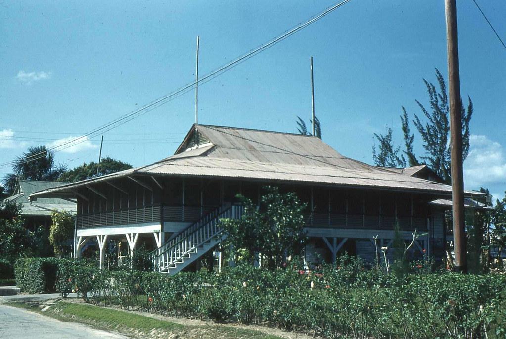 House in Watooka on Riverside Drive, MacKenzie, Guyana