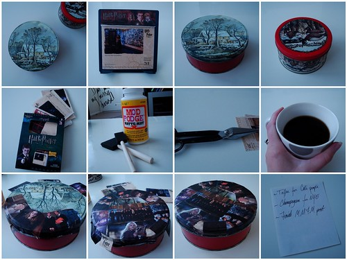 How To Turn a Holiday Tin Into a Nerdy Tin