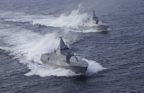 Swedish Navy's Stealth Corvettes: HMS Visby and HMS Helsingborg