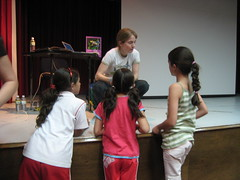 Kristin visits the American School Foundation of Monterrey