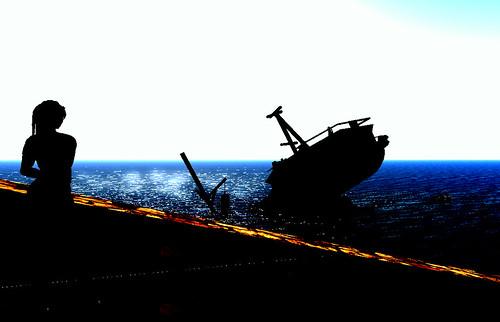 Bela's sunken boat