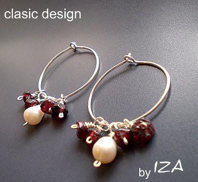 bijuterii de argint-cercei cu perle-bijuterii cu perle by you.
