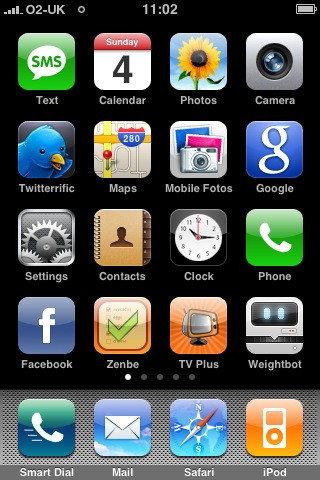 Home Screen 1