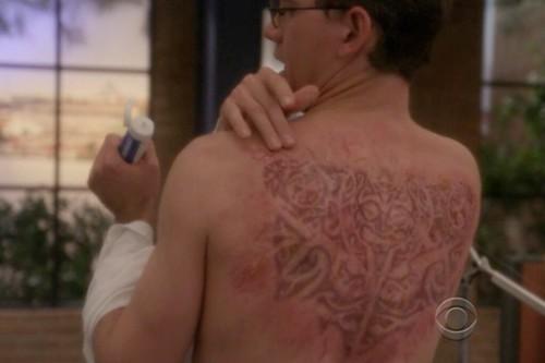 Palmer's henna tattoo
