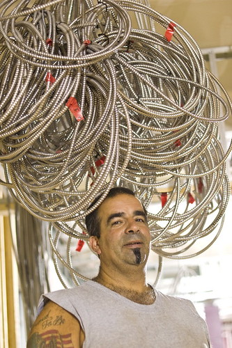 Augie, our electrician