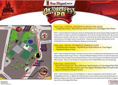 SMB Oktoberfest Map