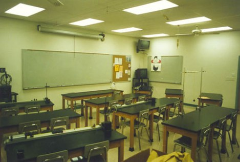 Rosati Kain High School Physics Lab Classroom