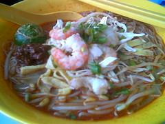 Sibu's MAS Corner Sarawak laksa