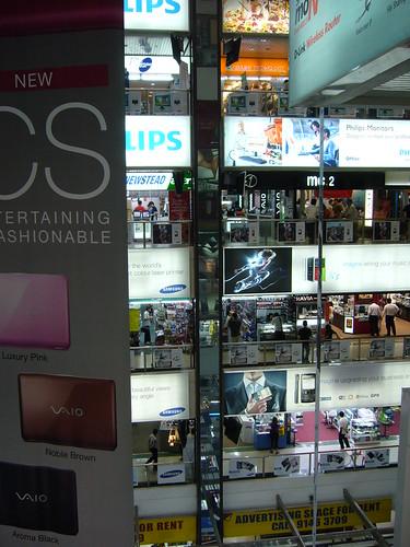 Sim Lim shopping center, Singapore