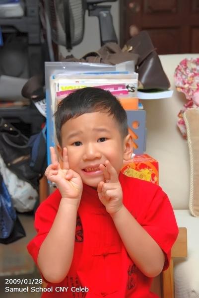 Samuel 2009 CNY School Celebration