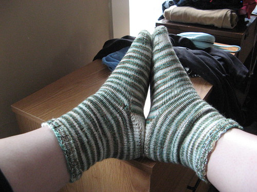 Simple Stripey Socks
