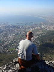 Mike on Table Mountain