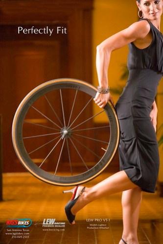KGS Bikes Print Ad Campaign