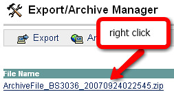 right click on long filename