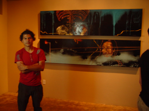 Heres the artist, Mr. Alfredo Gutierrez