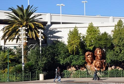 Siegfried und Roy in Las Vegas
