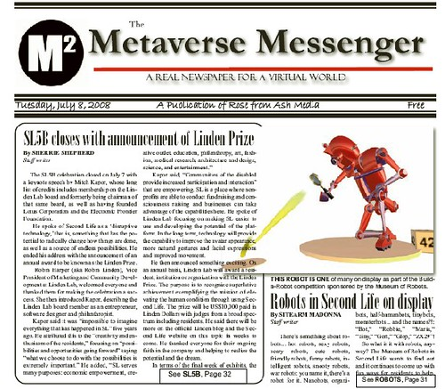 Meteverse Messenger Robot Competition Coverage